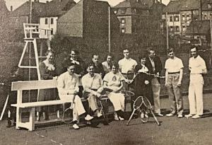 Tennisabteilung 1930