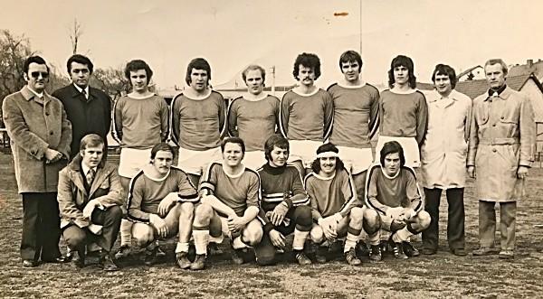1. Mannschaft (Anfang 70er Jahre)