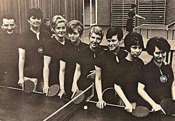Damenmannschaft 1967/68