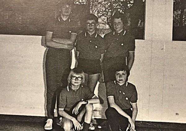 Schülermannschaft 1973