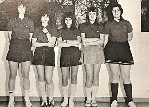 Mädchenmannschaft 1973