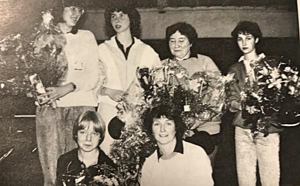 Die 1. Damenmannschaft Meister 1987