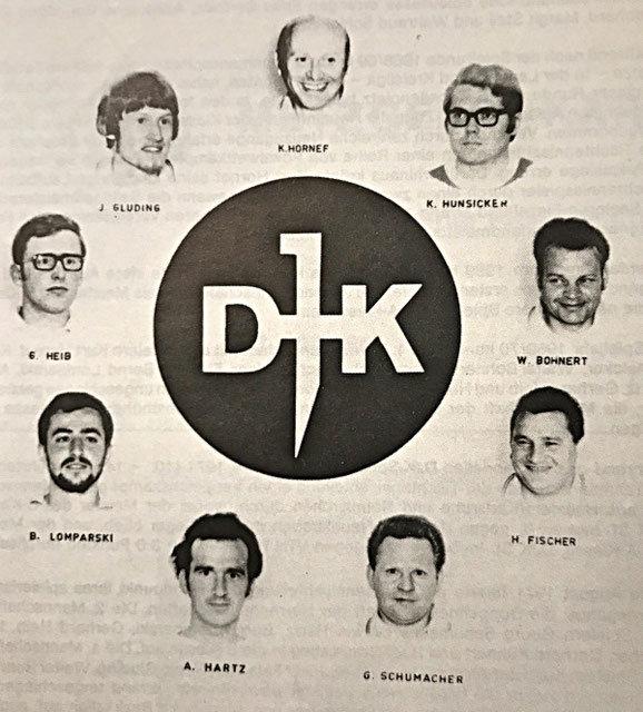 Meister 1969/70 B-Klasse Gruppe St. Ingbert