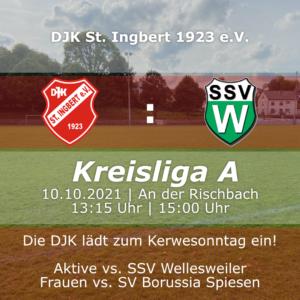 Read more about the article 9. Spieltag der Herren gegen die SSV Wellesweiler